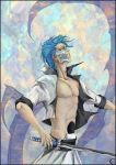 Grimmjow for Lan by canaury by canaury