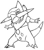 Fraxure free lineart