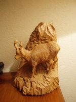 chamois by woodcarve