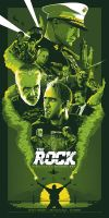 I SEE GREEN SMOKE / THE ROCK / VX GREEN by BarbarianFactory