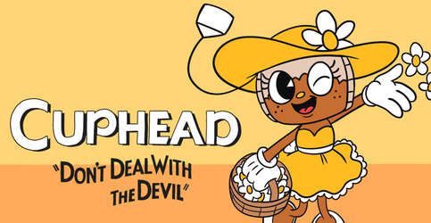 Cuphead: Cammie Banner by rustybirdcage
