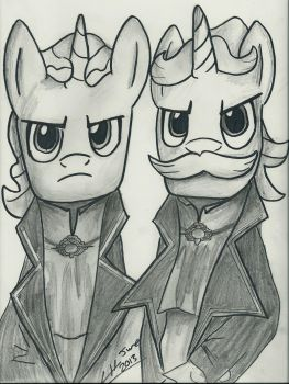 Flim and Flam Pendelton by TheHarmonicDeviant