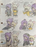 Iris and Brie Yuri Doodles (Pt. 1) by SmashArtist728