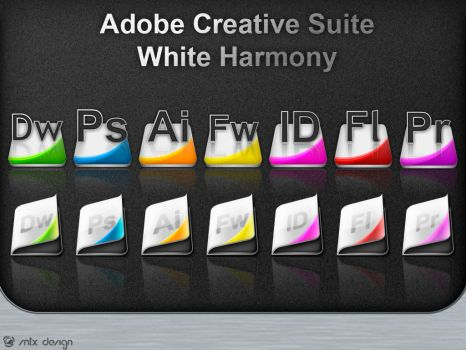 Creative Suite - White Harmony by sntxdesign