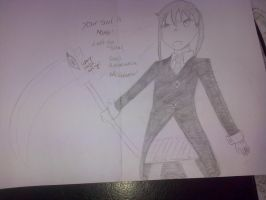 Maka and soul (Syth form) Soul Eater by epicbubble7