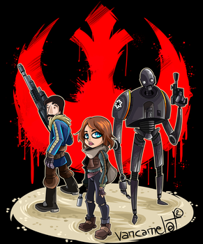 Rogue One by vancamelot