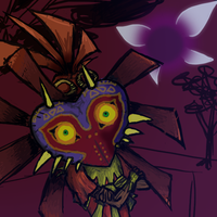 Skull kid Dome by Toadster