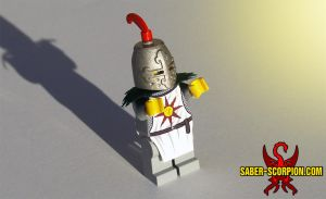 LEGO Solaire (Dark Souls) by Saber-Scorpion
