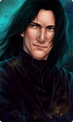 Severus Snape 2016  by KaseiArt