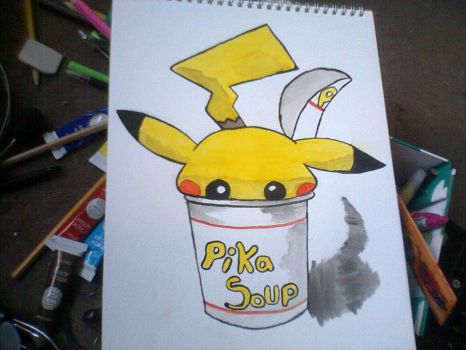 pika soup by 123deaththekid