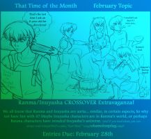 Feb Topic: Ranma+Inuyasha by ThatTime