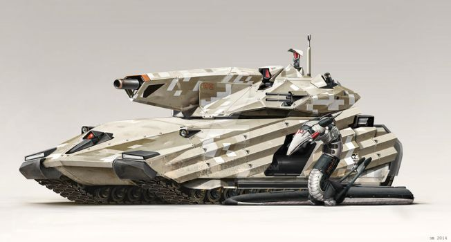 GCS-643 in Zone 10 Camouflage by Kalgrost