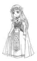 Zelda-Pencil by kitchan333