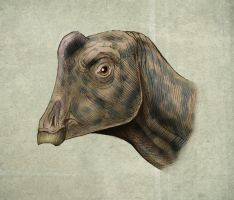 Parasaurolophus  Joe by MALvit