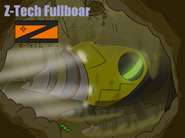Z-Tech Fullboar by Nyanbonecrush