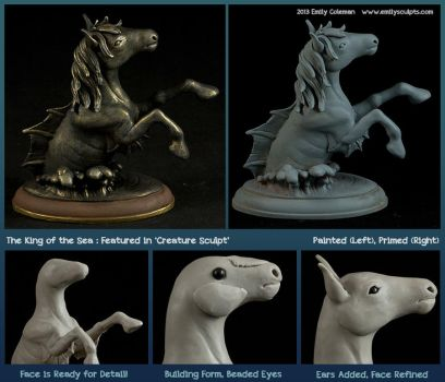 The King of the Sea : Featured in Creature Sculpt by emilySculpts