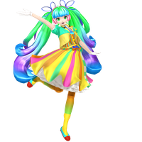 Trip The Light Fantastic Miku Done! by Sangabc