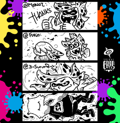 Splatoon Miiverse Art 44 by SPIRALCRIS