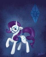 Rarity by pony-by-firelight