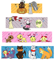 PKMNation: Suzu's Babies Clutch [CLOSED] by fushigiseeds