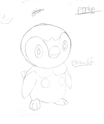 Moar Piplup : Pencil by Zehdils