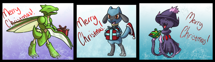 Secret Santa 2014 compilation by GoldFlareon