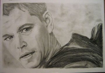 matt damon by mamasele