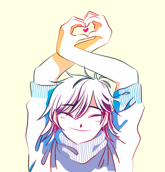 Noodle loves you! by moread