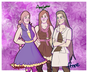 3 Annasophias?! by Jamie2286