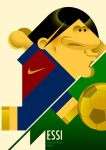 Messi by mariapicasso