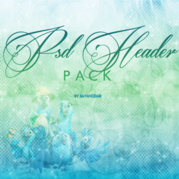 PSD Header Pack by BayanOdair