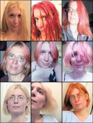 hair color collage by sataikasia