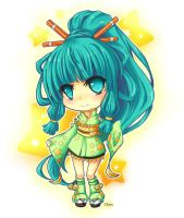 ChibiCommission_Azumi by Merollet