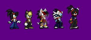 Sprites for 2017- 2018 (PLEASE READ DESCRIPTION) by xFluffyPupx