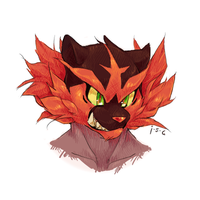 Incineroar by just-some-cat
