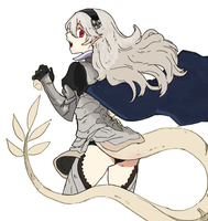 Project Kamui/Corrin (incomplete) by RockMan6493