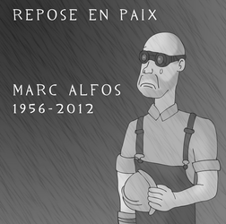 RIP Marc Alfos by ZeFrenchM