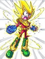 wat if zonic became SUPER ZONIC...CL by trunks24