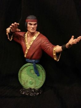 Master of Kung-Fu Mini Bust (Painted) by ASM-studio
