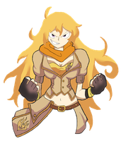 Yang Xiao Long by Sorairo-Wolf