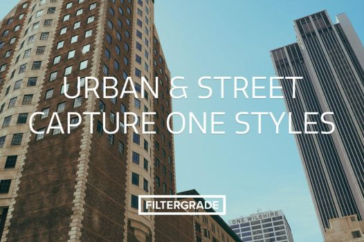 Urban and Street Capture One Styles by filtergrade