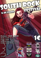 Commission - South Rock Festival by AT-Studio