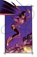batgirl colors by GIO2286