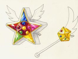 Sailor Starlights' Items by tini