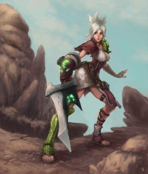 Riven, the Exile by dimelife