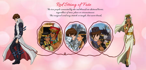 Trustshipping - Red String of Fate by AnaPaulaDBZ