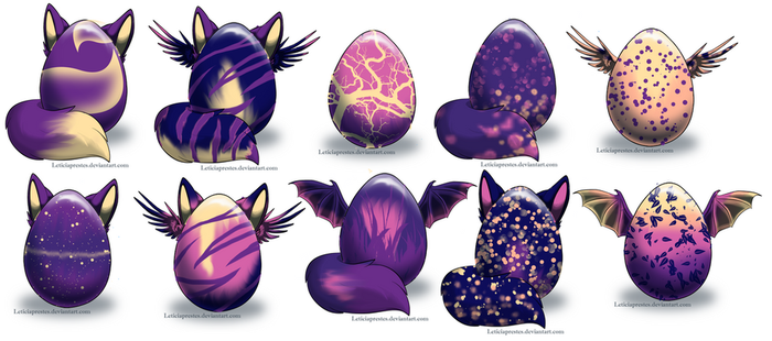 Egg Auction-Closed by ThunderLordess