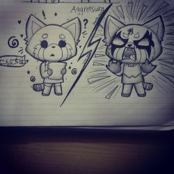 Aggretsuko by Sharpy-Town