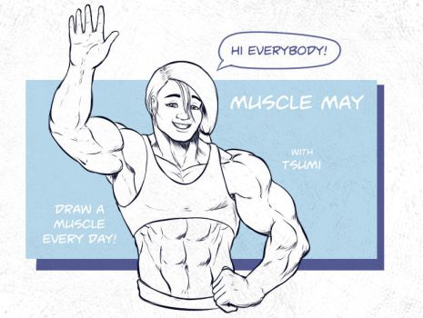 Muscle may Cover by otakutaylor