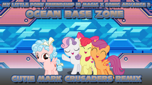 [MLP FiM] Ocean Base Zone (CMC Remix) by DashieMLPFiM